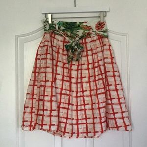 Maeve (Anthropologie) County Fair Skirt